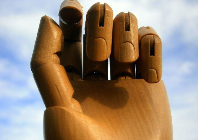 Les articulations d'une main