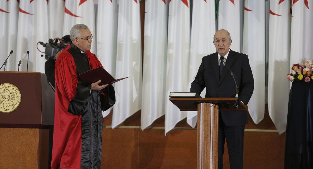 Le Président algérien rend hommage au respect du confinement par les habitants de Blida