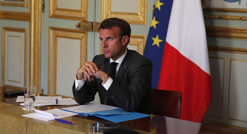 Intervention d'Emmanuel Macron lors de la 75e session de l'Assemblée générale de l'Onu