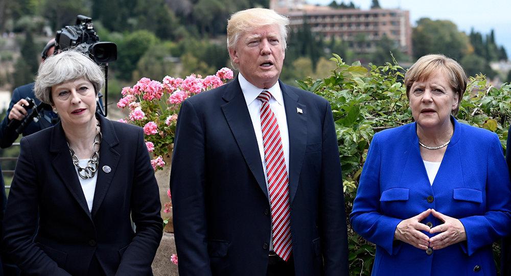 CNN raconte que Donald Trump «humiliait» Angela Merkel et Theresa May