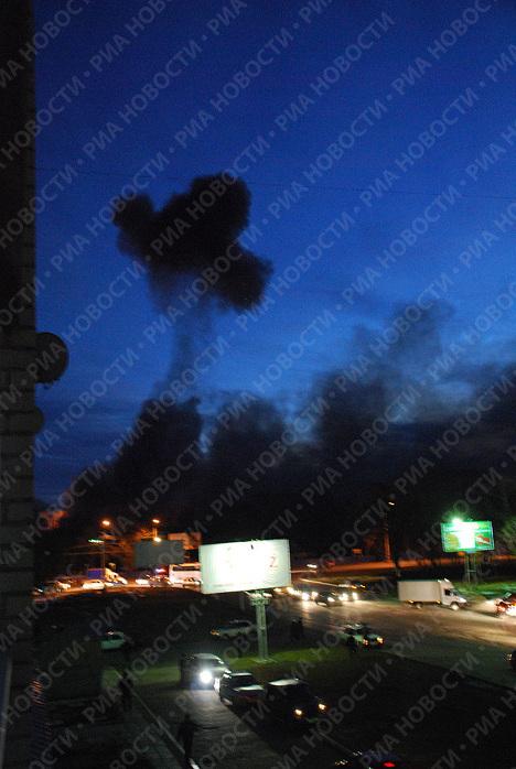 Взрыв на складе с боеприпасами в Ульяновске