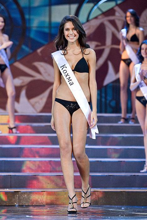 Ксения Шипилова - российская участница конкурса Мисс Мира