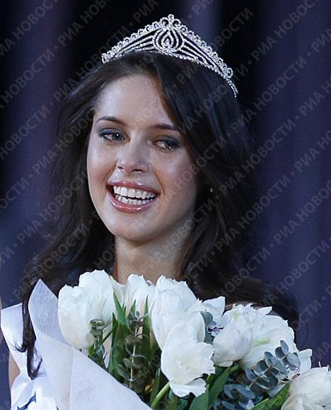 Вице-мисс России Ксения Шипилова будет представлять Россию на Мисс мира–2009