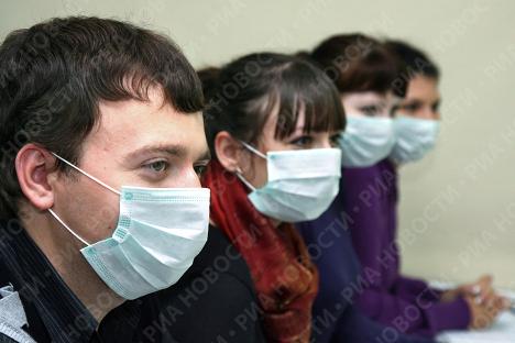 Профилактика гриппа в ВУЗе Владивостока