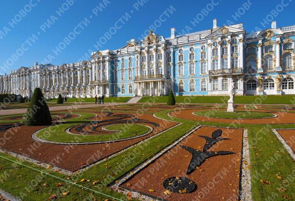 Tsarskoye Selo museum estate.