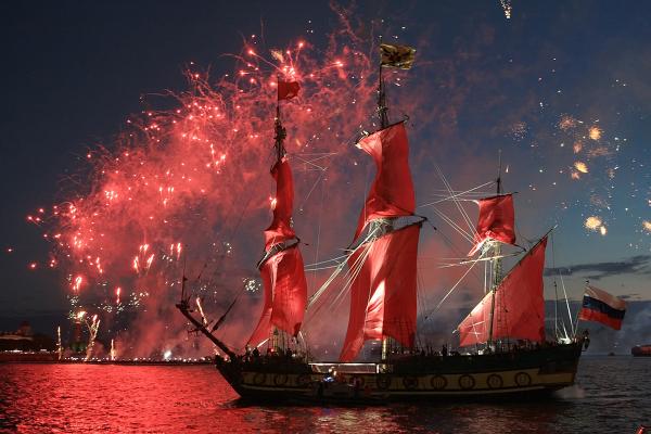 Scarlet Sails school-leavers holiday in St Petersburg