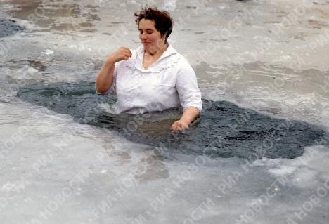 Омовение в праздник Крещения