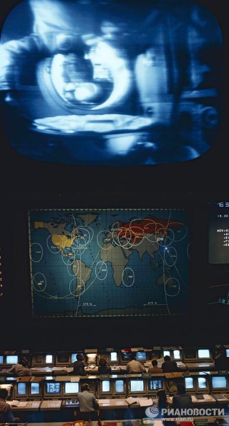 Apollo-Soyouz, la première mission spatiale conjointe soviéto-américaine