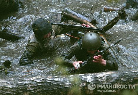 Квалификационные испытания спецназовцев