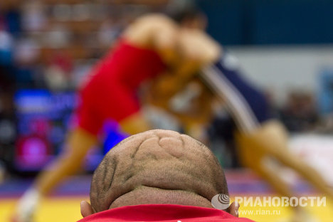 Championnat du monde de lutte. Le tournoi de lutte gréco-romaine.