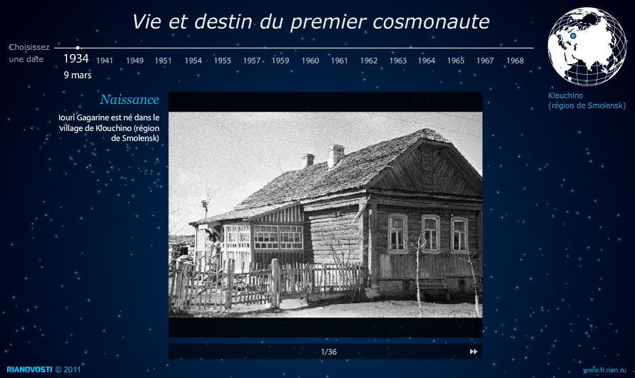 Vie et destin du premier cosmonaute