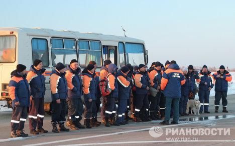 Отправка самолета МЧС с гуманитарной помощью для Японии