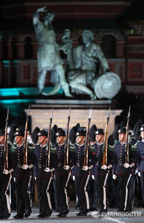 Церемония открытия фестиваля Спасская башня 2011