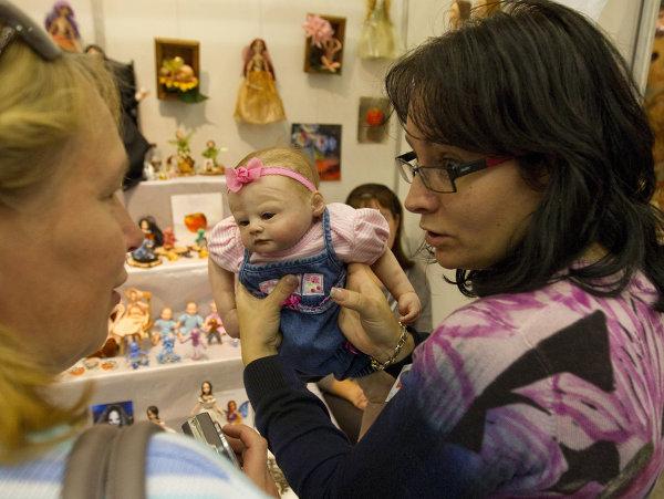 International Doll Salon in Moscow