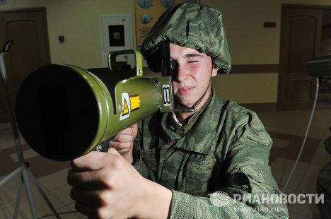 Боевые учения воинских частей Шиханского гарнизона