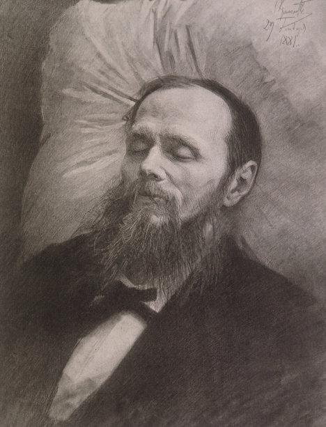 Ф.М.Достоевский на смертном одре
