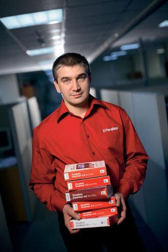 Сергей Белоусов  - один из сооснователей компании Parallels