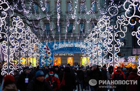 L\'inauguration du Marché de Noël de Saint-Pétersbourg - Sputnik France