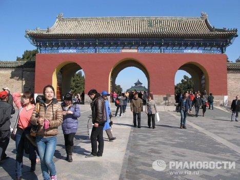 Ворота совершенного целомудрия в Китае