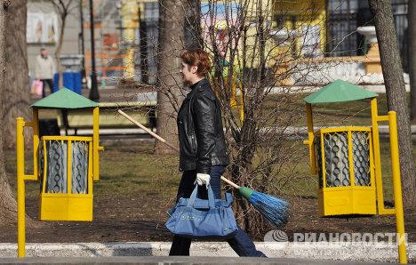 Московский общегородской субботник