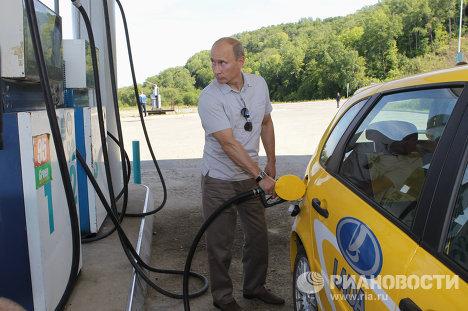 Рабочая поездка В.Путина по Дальневосточному федеральному округу
