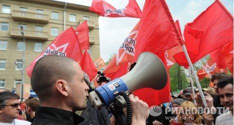 Сергей Удальцов на Марше миллионов