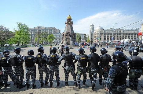 Задержания участников акции оппозиции на Китай-городе
