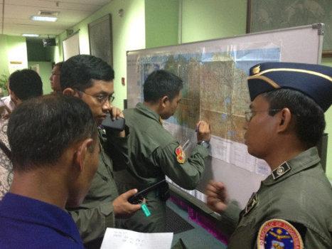 Ведутся поиски пропавшего в Индонезии Superjet-100
