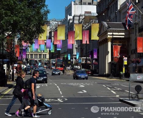 Лондон в преддверии Олимпиады 2012