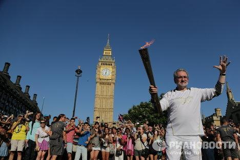 Олимпийская эстафета в Лондоне