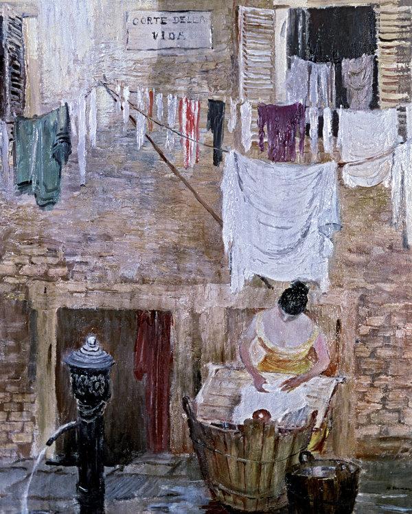 Картина Венецианская прачка