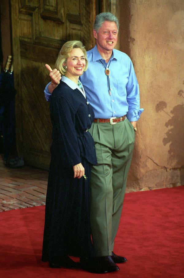 Bill et Hillary Clinton (archives)