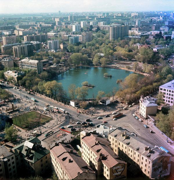 Вид на Московский зоопарк