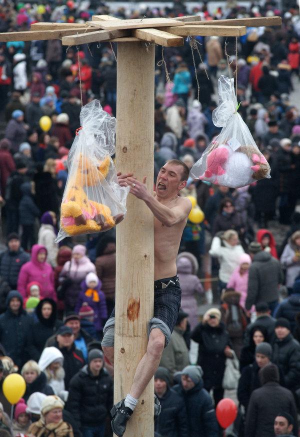Празднование Масленицы в Самаре