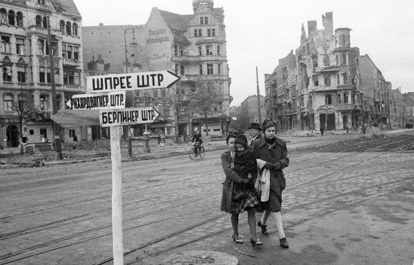 Берлинер-штрассе в Берлине