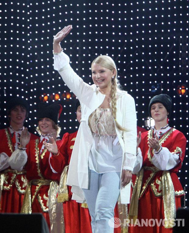 Юлия Тимошенко на благотворительном детском фестивале Черноморские игры