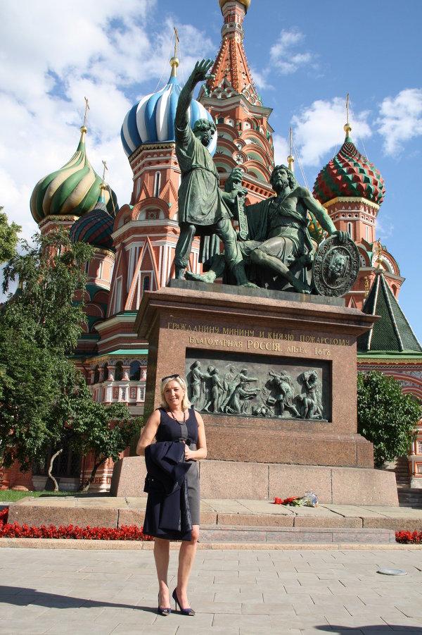 Marine Le Pen en visite à Moscou