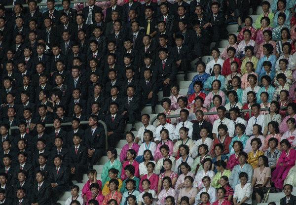 Торжественное заседание Трудовой партии Кореи