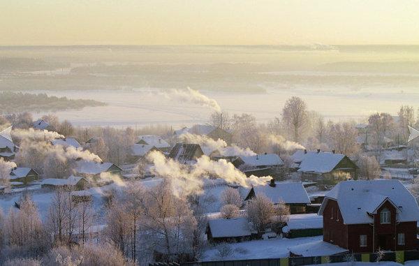 Деревянные дома в Сыктывкаре, Республика Коми