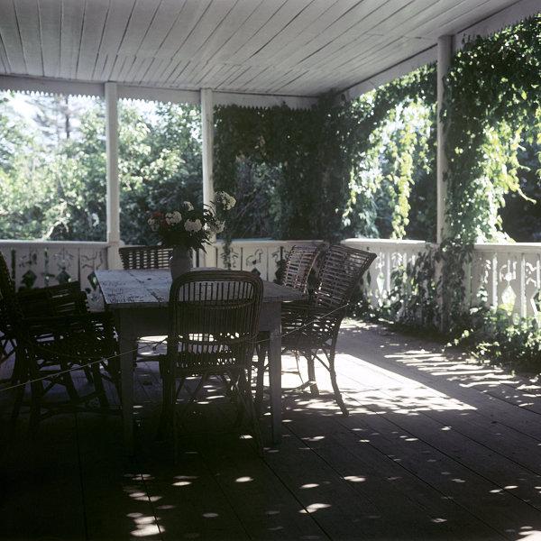 Терасса в доме Л. Н. Толстого