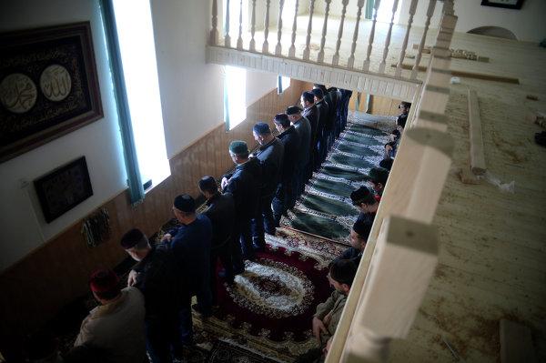 Празднование Курбан-байрама в Чеченской республике