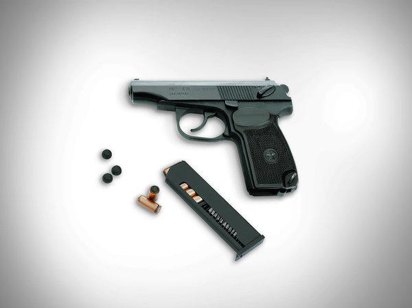 Служебный пистолет МР-471