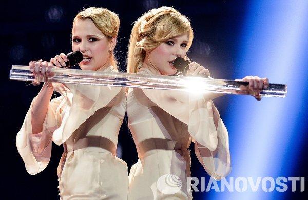 Репетиция полуфинала международного конкурса песни Евровидение-2014