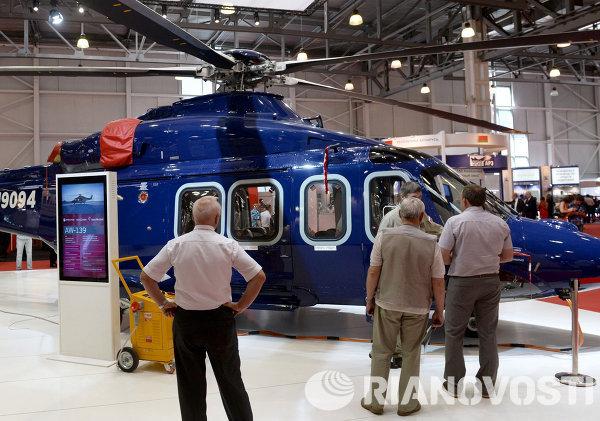 VII Международная выставка вертолетной индустрии HeliRussia 2014