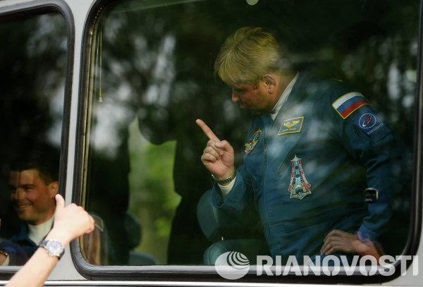 Член основного экипажа 40/41 экспедиций на МКС космонавт Роскосмоса Максим Сураев