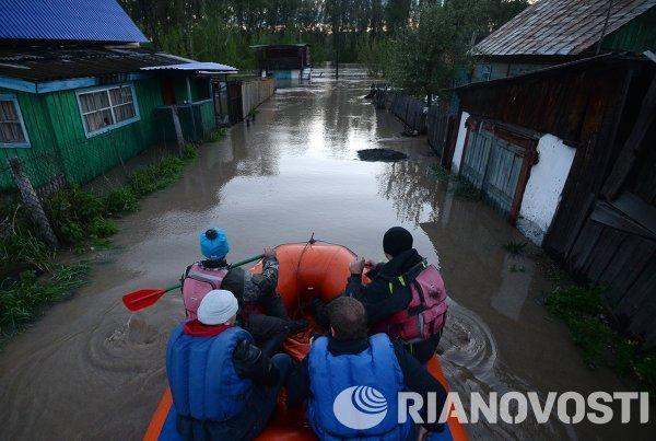 Паводок в Республике Алтай
