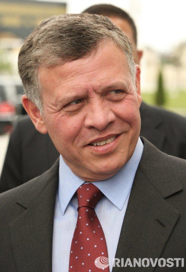Визит короля Иордании Абдаллы Второго в Чечню